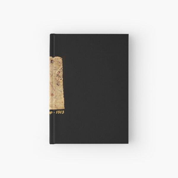 Piri Reis 1513 Map Hardcover Journal