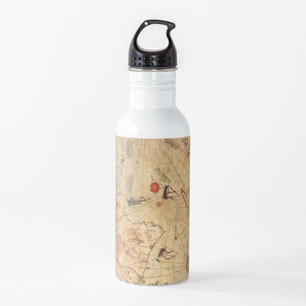 Piri Reis 1513 Map Water Bottle
