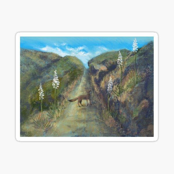 A Fellow Traveler on the Trail Sticker