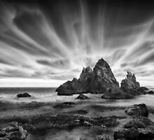 Skyscape in Black and White by Annette Blattman