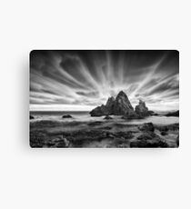 Skyscape in Black and White Canvas Print