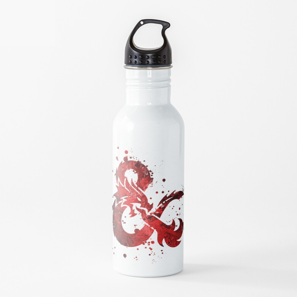 Dungeons and Dragons - Splatter Water Bottle