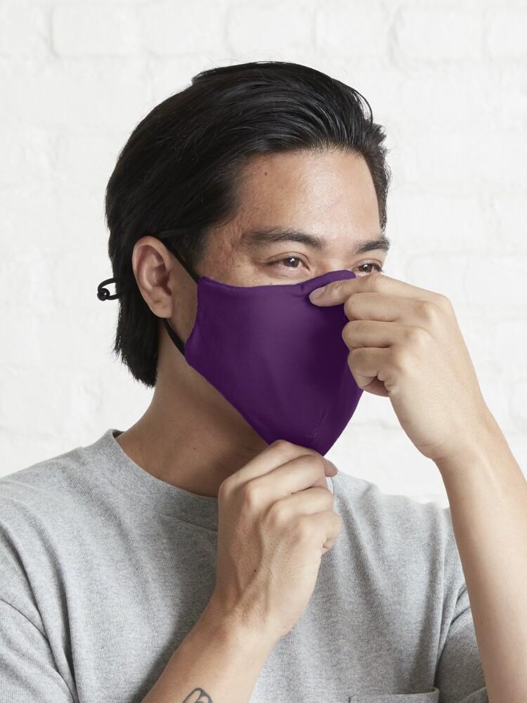 Alternate view of  Dark Plum  Mask