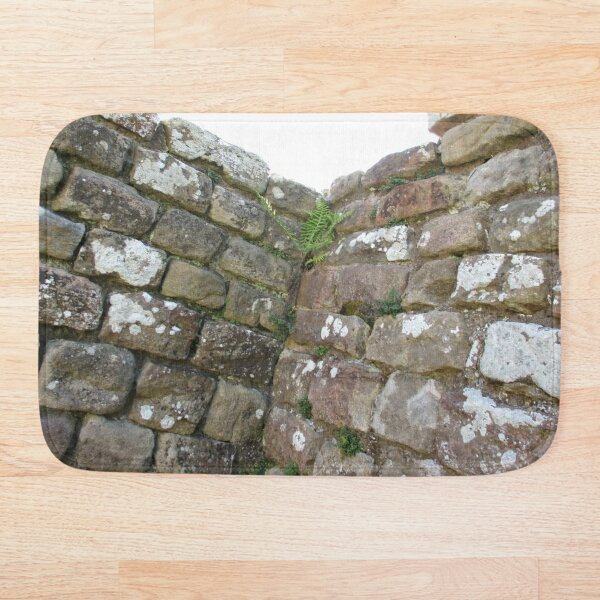 Merch #102 -- The Corner Plants (Hadrian's Wall) Bath Mat