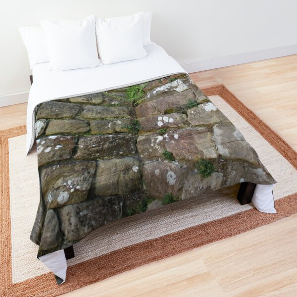 Merch #102 -- The Corner Plants (Hadrian's Wall) Comforter