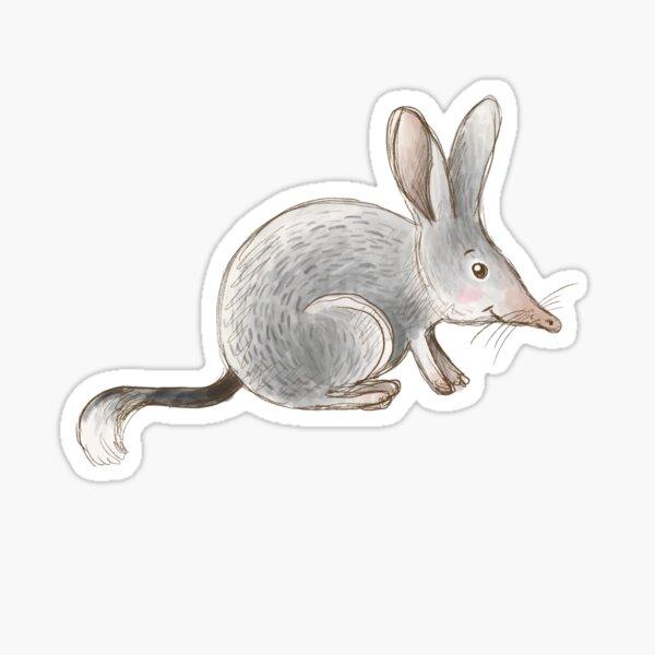 Aussie Animals: Bilby Sticker