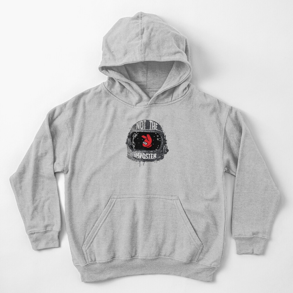 Not The Imposter Kids Pullover Hoodie