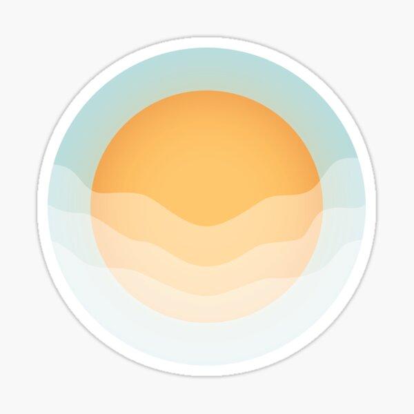 The Sun Cloud Sticker