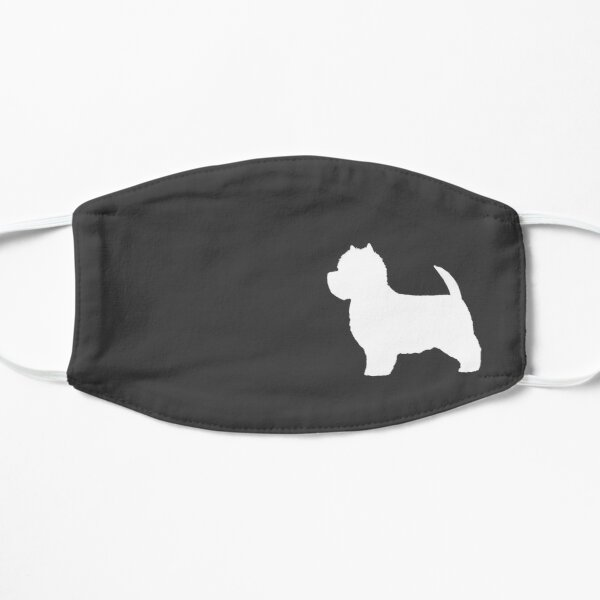 West Highland White Terrier Silhouette(s) Mask