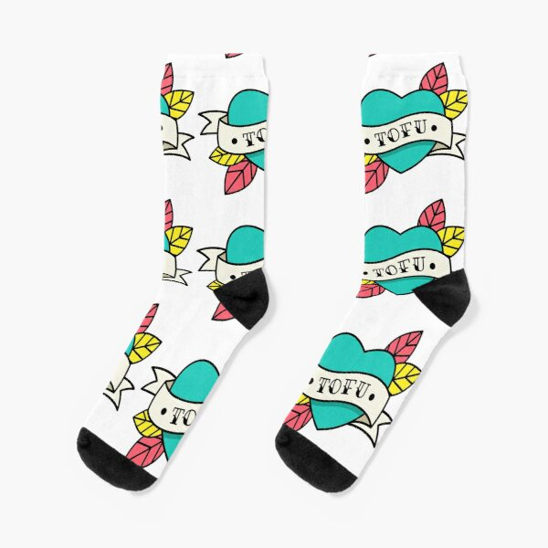 Tofu Tattoo Socks