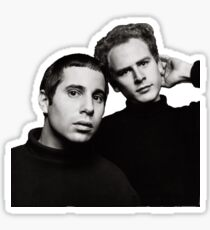 Simon & Garfunkel no background Sticker