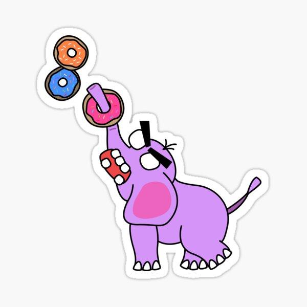 ring toss Sticker