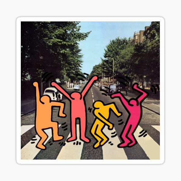 Abbey Road Rage Sticker