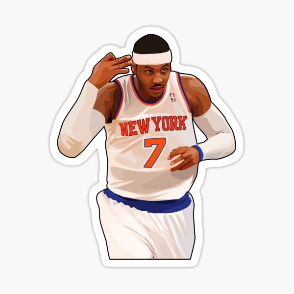 Carmelo Anthony - 3 to the Dome Sticker