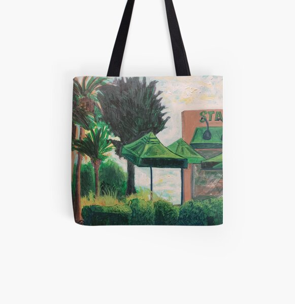 Starbucks All Over Print Tote Bag