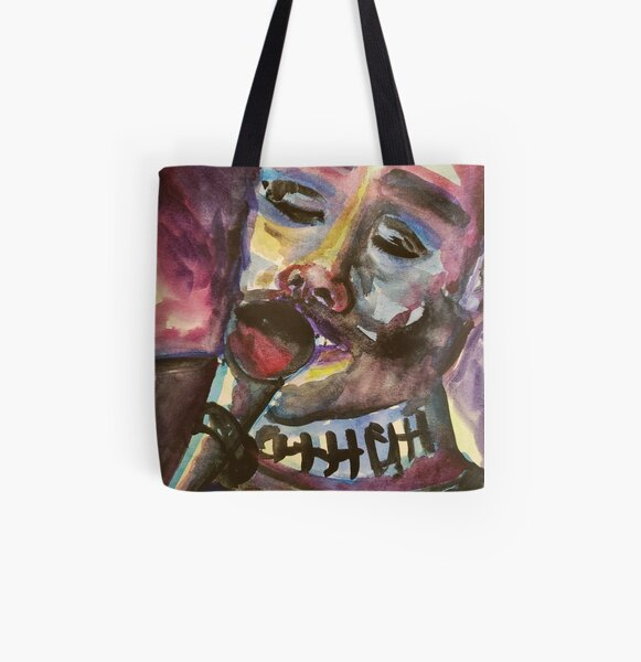 Staind Fan Art All Over Print Tote Bag