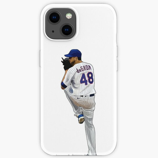 Jacob deGrom #48 Ready iPhone Soft Case