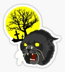 Pet Sematary - Church - Stephen King Sticker
