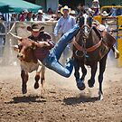 Steer Wrestling by Werner Padarin
