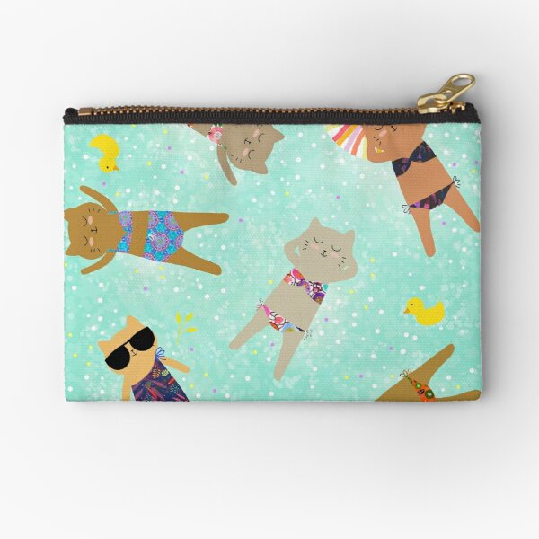 Floating in the Sea Zipper Pouch