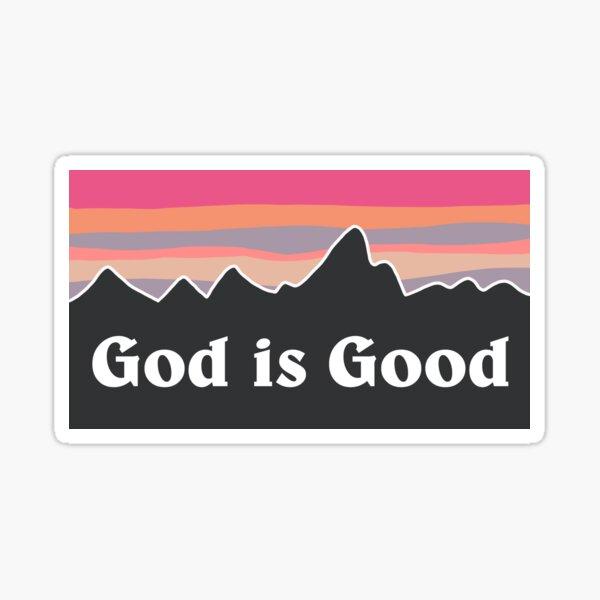 Dieu est bon Sticker