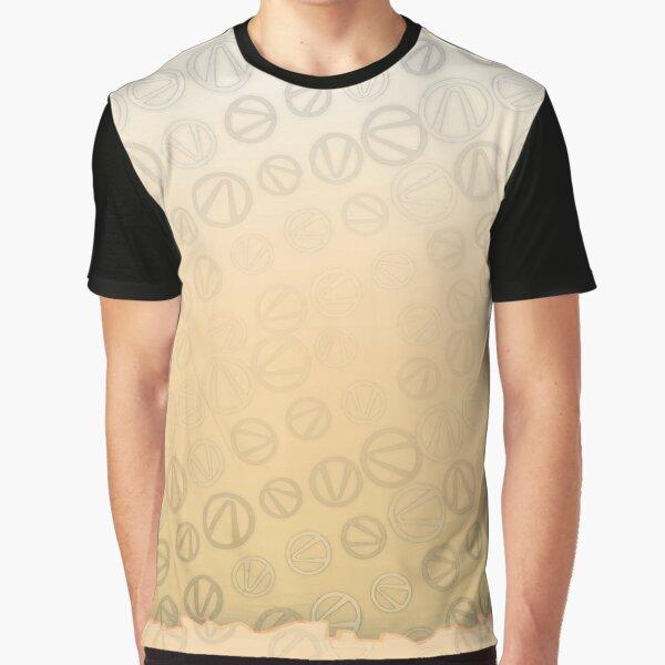 Borderlands Vault Symbol Pattern Graphic T-Shirt