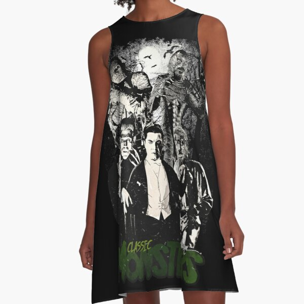 CLASSIC MONSTERS A-Line Dress