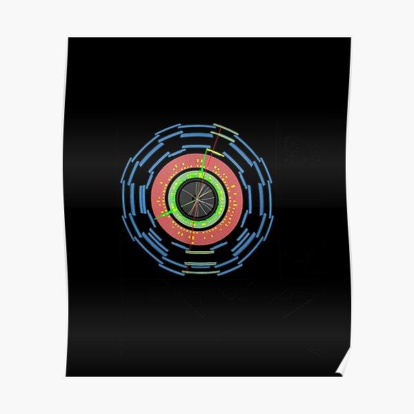 Lhc Particle Physics Higgs Boson Physics Student Teacher T shirt Poster
