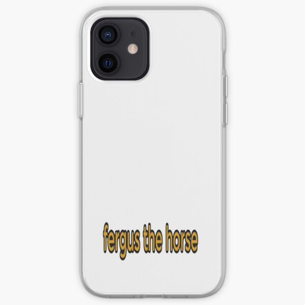 Fergus The Horse funny iPhone Soft Case