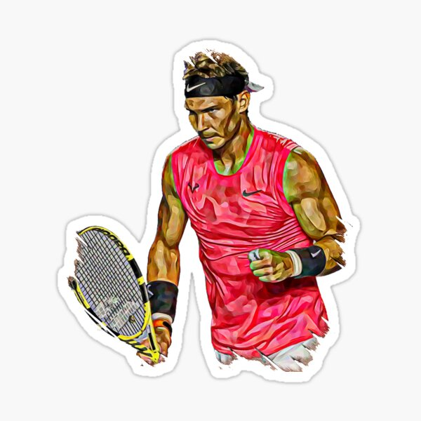 Tennis de Rafael Nadal Sticker