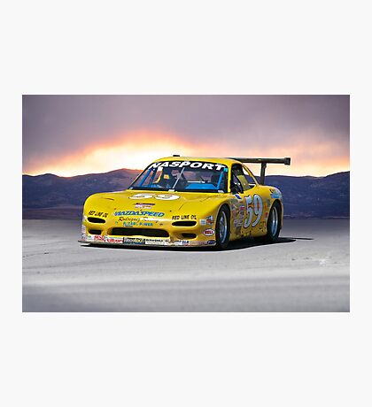 SCCA Mazda GT3 Photographic Print