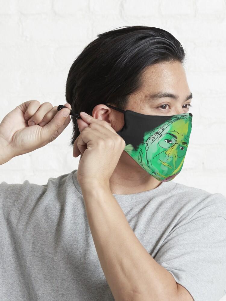 Masque ''Jean Baudrillard': autre vue