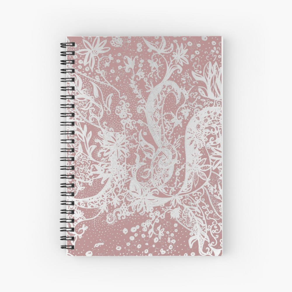 "Textile tattoo ""Alnar"" Spiral Notebook"