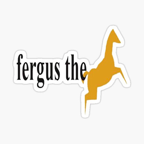 Fergus The Horse Sticker