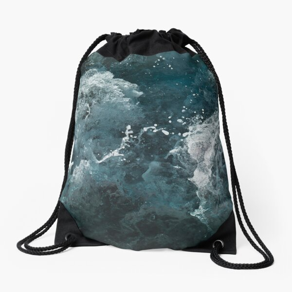 A dance of water Drawstring Bag