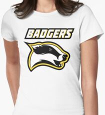 Badgers Womens Fitted T-Shirt