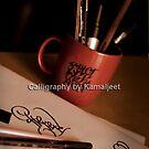 CALLIGRAPHY FOR TATTOOS by Kamaljeet Kaur