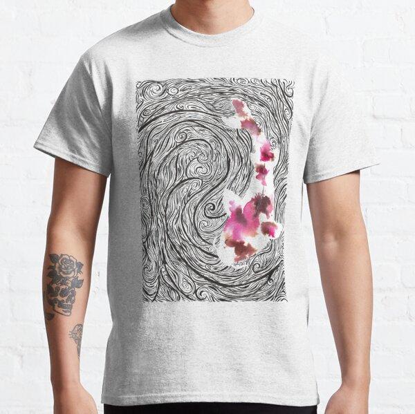 Koi à la mer d'encre T-shirt classique