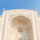 Taj Mahal by Walter Quirtmair