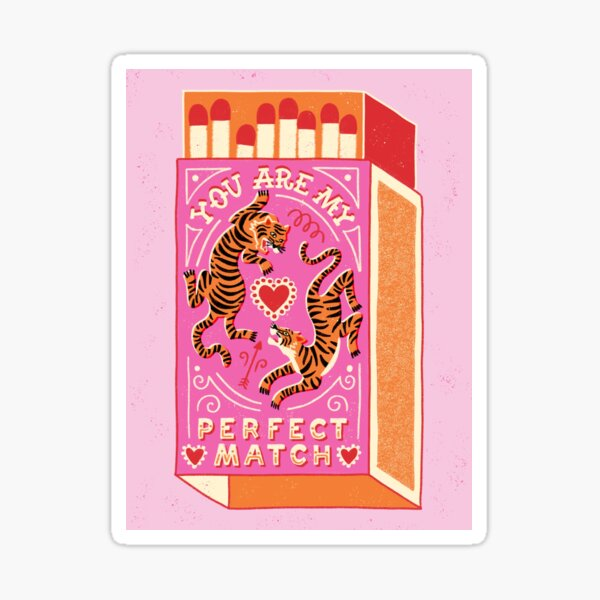 Match parfait Sticker