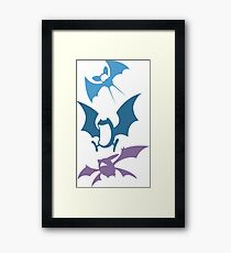 ZubatEvolution Framed Print