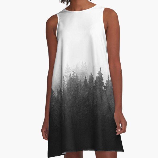 A Wilderness Somewhere A-Line Dress