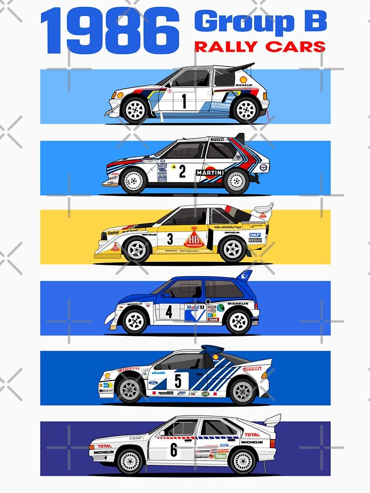 1986 group B rallycars by purpletwinturbo