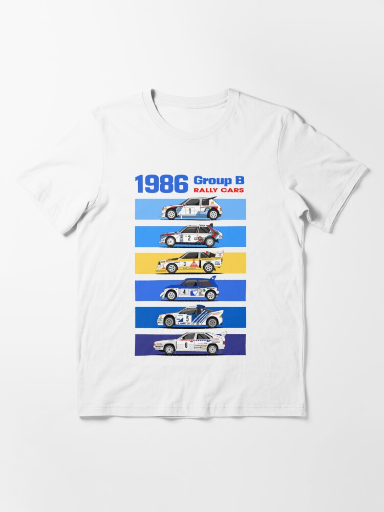 Alternate view of 1986 group B rallycars Essential T-Shirt