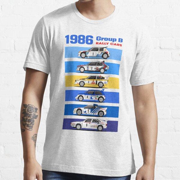 1986 voitures de rallye groupe B T-shirt essentiel