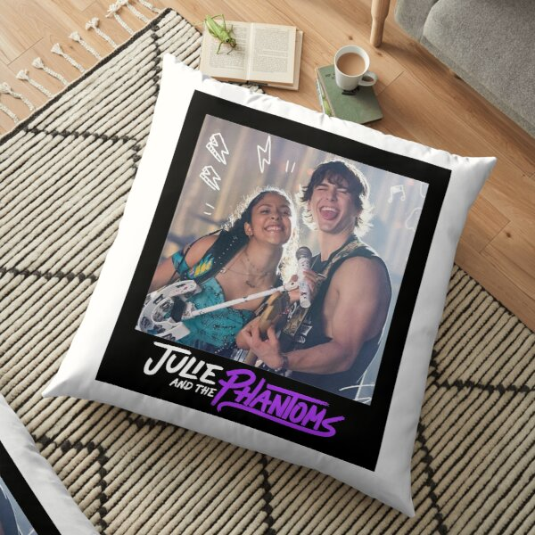 Julie and Luke - Julie and the Phantoms Floor Pillow