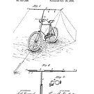 Fahrradbefestigungspatent - Circa 1894 von Marlene Watson