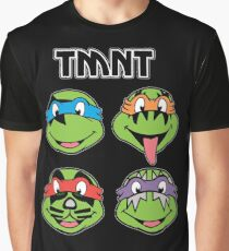 TMNT and KISS crossover Graphic T-Shirt