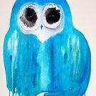 Harmony Owl by Julie  Sutherland