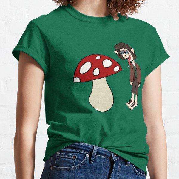 Hobbits Love Mushrooms Classic T-Shirt